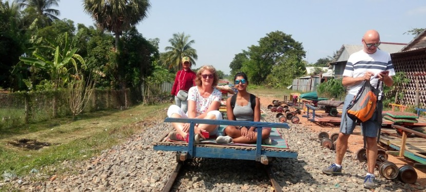 My #SoloTrip to #Cambodia: #Sightseeing around #Battambang- Countryside Battambang and Bamboo Train Ride
