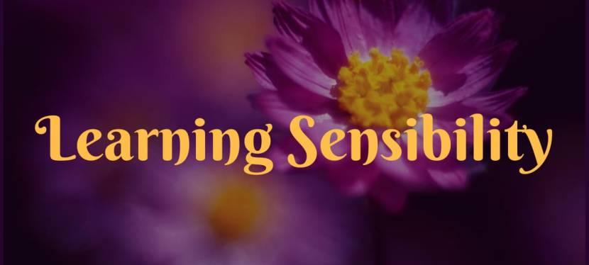 Learning Sensibility