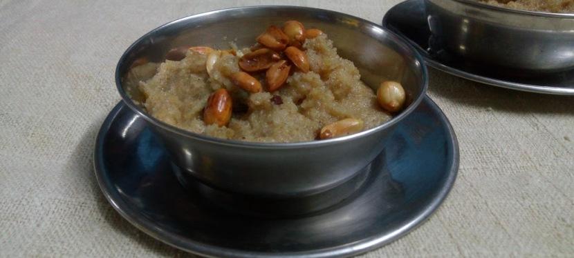 Healthy Sooji Halwa