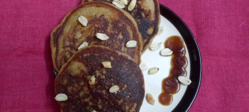 Regular Vanilla Pancake with Wheat Flour
