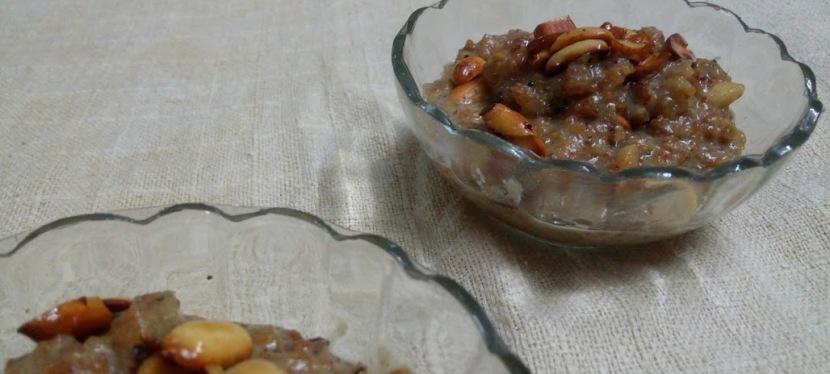 Healthy Oats Halwa