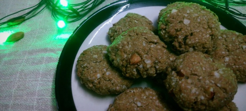 Healthy Oats Ginger Cookie Recipe