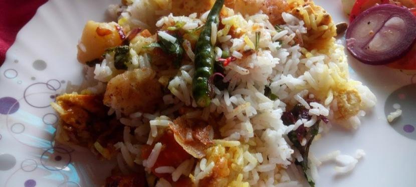 Simple Healthy Paneer BiryaniRecipe