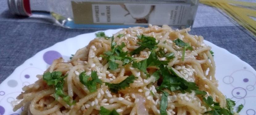 Healthy Peanut Butter NoodlesRecipe