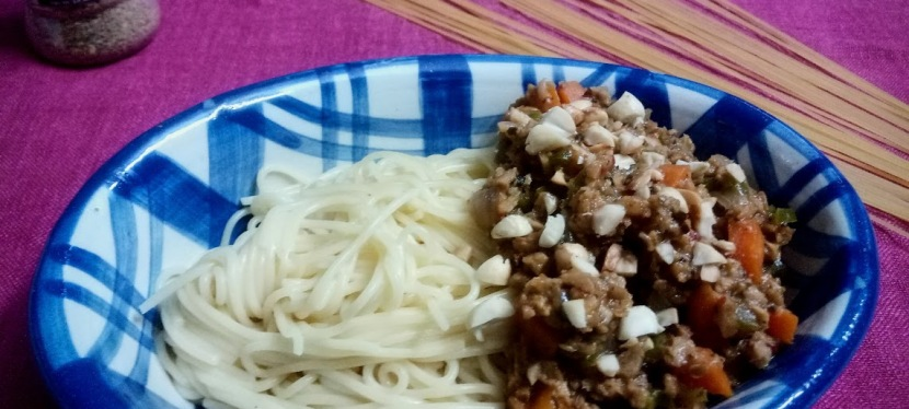 Veg Bolognese PastaRecipe