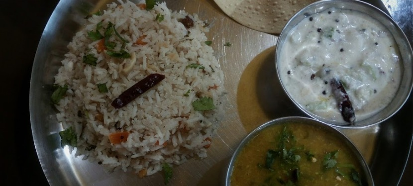 Healthy Kerala Thali Recipe