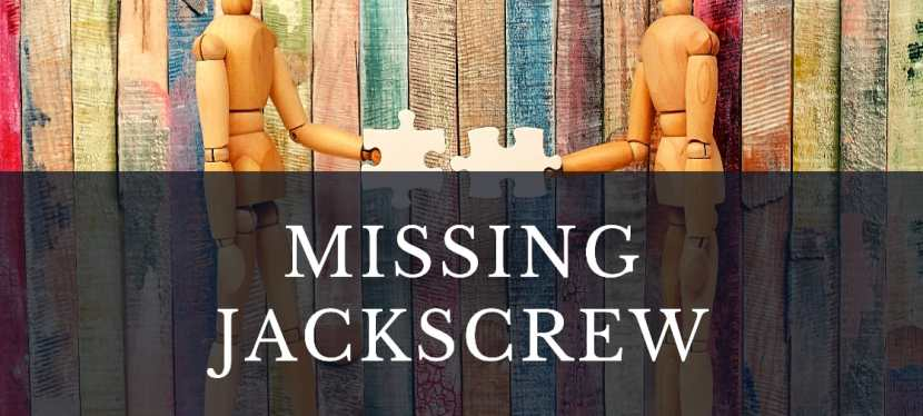 Missing Jackscrew..