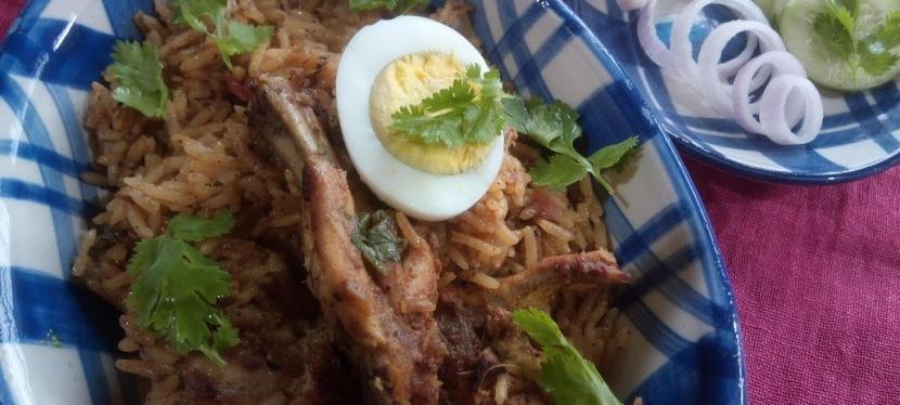 One Pot Chicken Rice- ThaiStyle