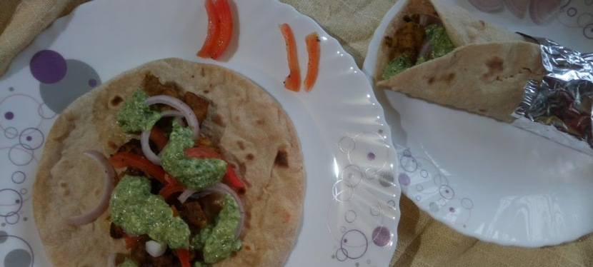Healthy Chicken RotiRoll