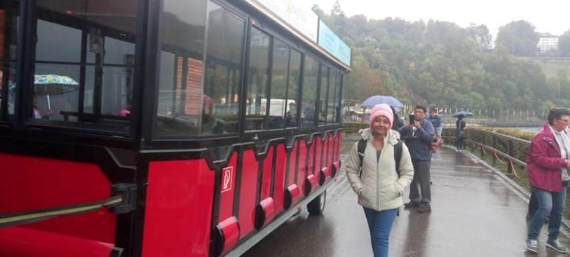My Journey to the Land of Fairy-tales- Rhine Falls,Zurich